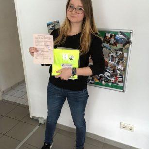 Gratulation Katja