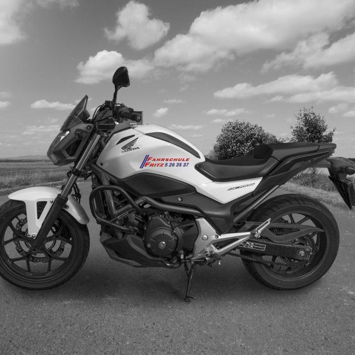 Honda NC 700   48 PS   für Klasse A2